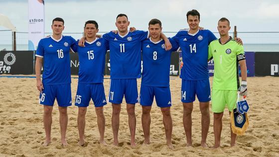 Сборная Казахстана по пляжному футболу