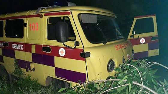 Угнанная машина скорой помощи