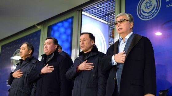 Токаев, Мамин, Сагинтаев и Джаксыбеков
