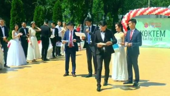 Кадр из видео с Асылбеком Жумабаевым