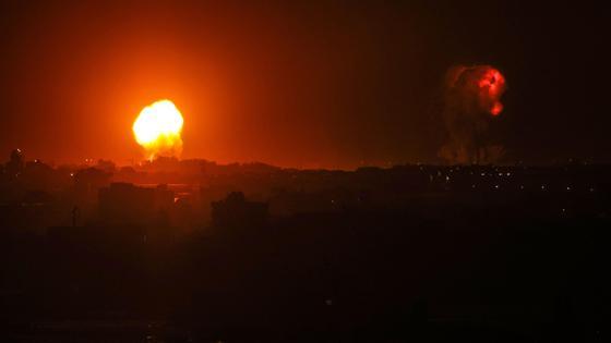 Израиль и Палестина обменялись ударами