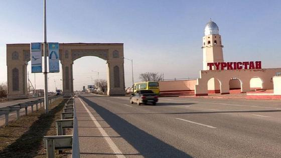 Въезд в Туркестан