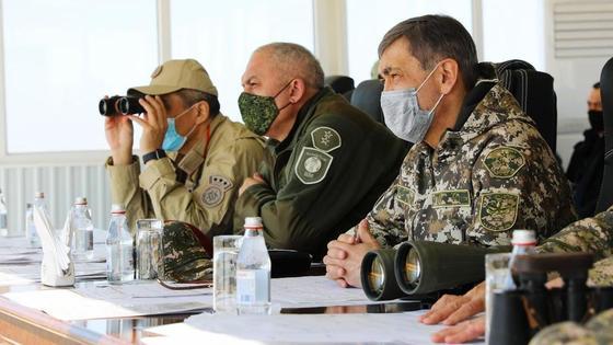 """Военное учение """"Калкан-2021"""""""