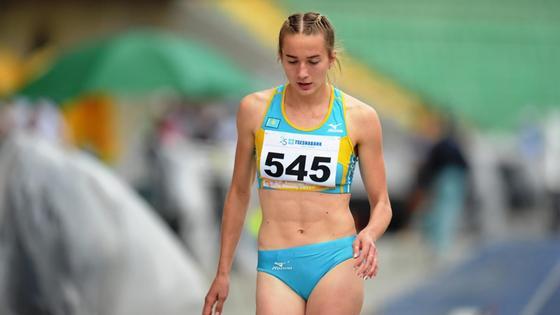Легкоатлетка Мария Овчинникова