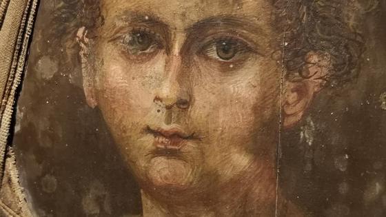Портрет мумии мальчика