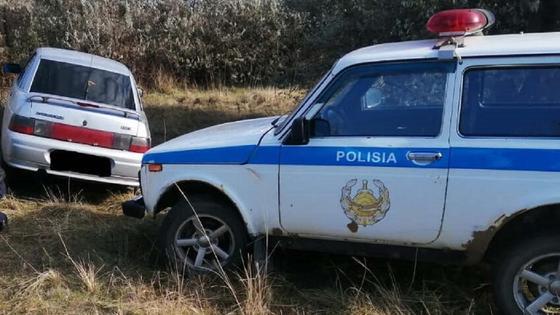 Полиция нашла угнанную автомашину