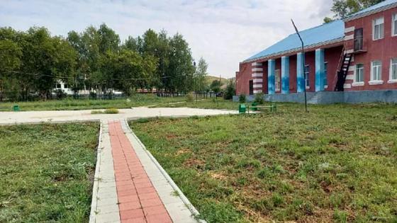 Новый парк в селе Волчанка