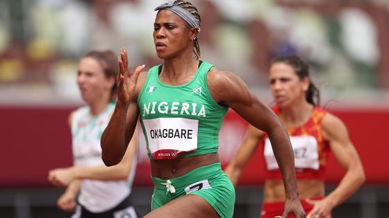 Нигерийская легкоатлетка Блессинг Окагбаре