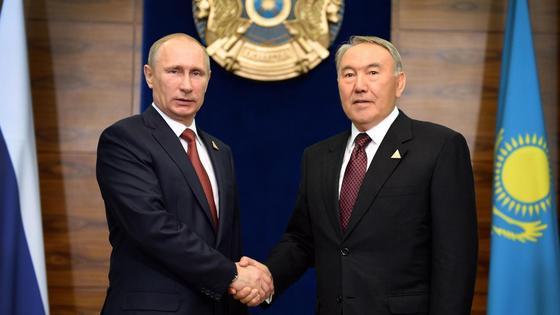 Елбасы мен Путин