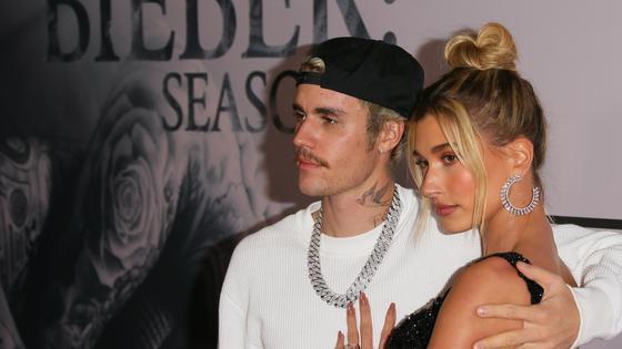 Джастин Бибер и его супруга