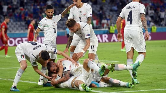 Италия прошла в полуфинал Евро-2020