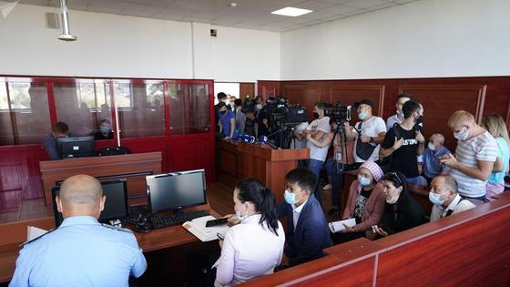 Суд по ДТП на блокпосту в Алматы