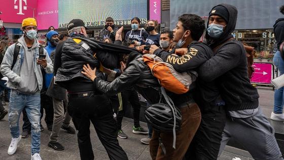 Бунт в Нью-Йорке