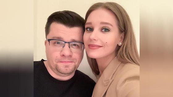 Гарик Харламов и Кристина Асмус. Фото