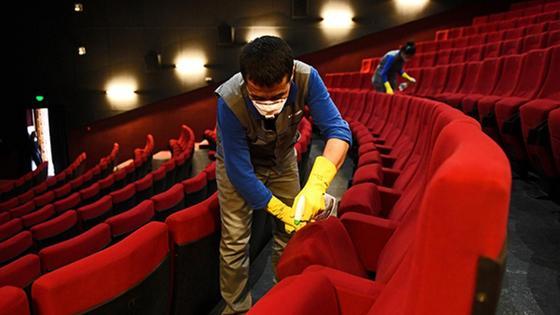 кинотеатр жұмысы