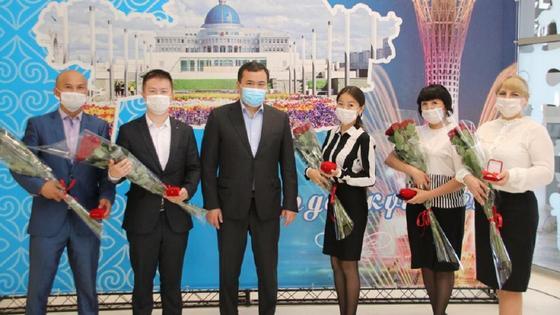 Карагандинские учителя получили подарок ко Дню столицы