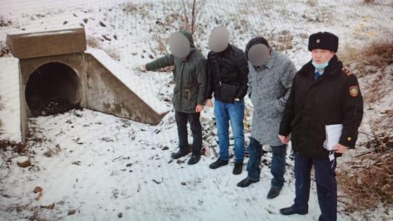 Подозреваемый в убийстве в Алматинской области
