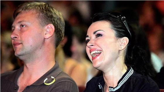 Анастасия Заворотнюк и Дмитрий Стрюков. Фото