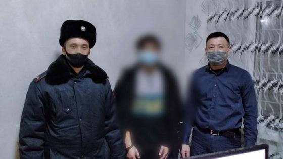 Полицейские провели задержание