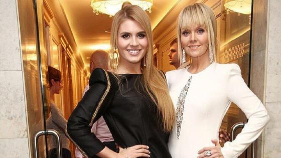 Валерия с дочерью Анной. Фото