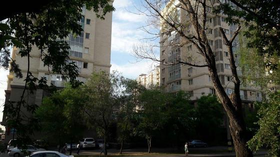 два многоэтажных дома