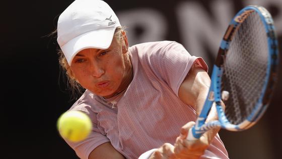 Теннисистка Юлия Путинцева