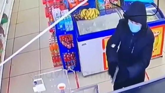 Грабитель в Павлодарской области