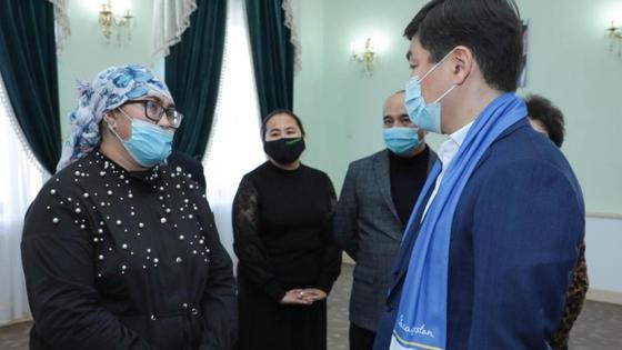 Встреча с жителями Кызылординской области