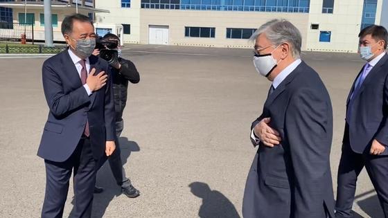 Токаев прилетел в Алматы
