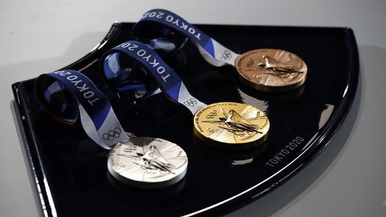 Токио Олимпиадасында берілетін медальдар