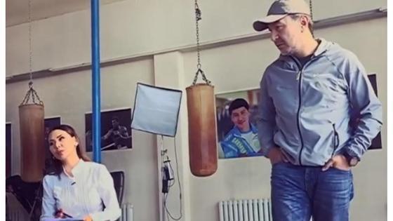 Динара Сәтжан мен Ақан Сатаев