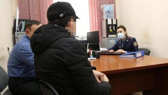Подозреваемый в Туркестане