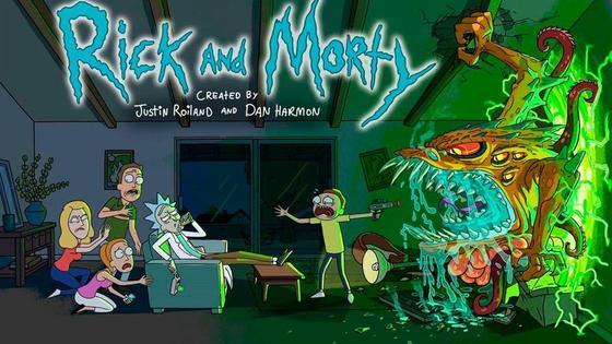 Постер к мультику «Рик и Морти»