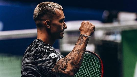 Теннисист Денис Евсеев