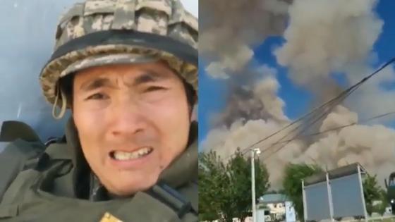 Казахский военнослужащий