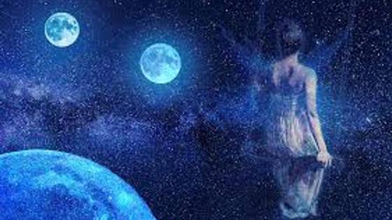 Луна и фея
