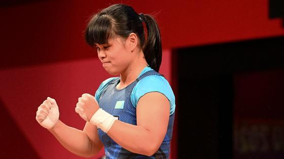 Тяжелоатлетка Зульфия Чиншанло