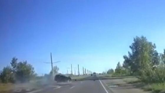 Столкновение двух авто в Павлодаре