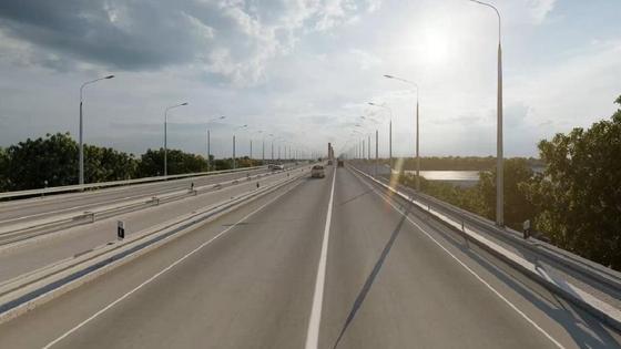 Проект моста в Павлодаре