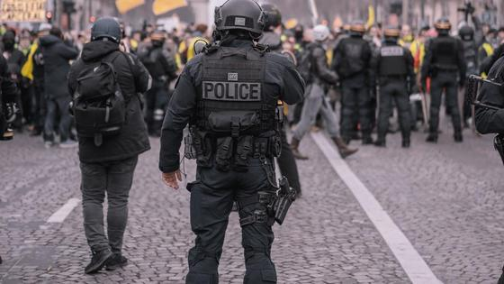 Полиция во Франции