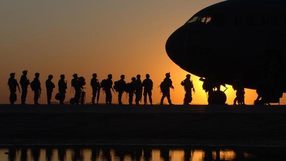 солдаты. американцы. база. фото pxhere.com