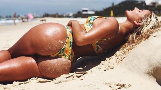Австралийская модель Карина Ирби