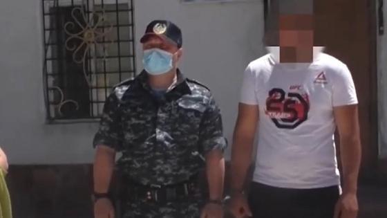 Подозреваемый в Жамбылской области