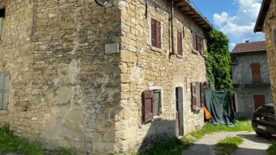 Один из домов в Ветто