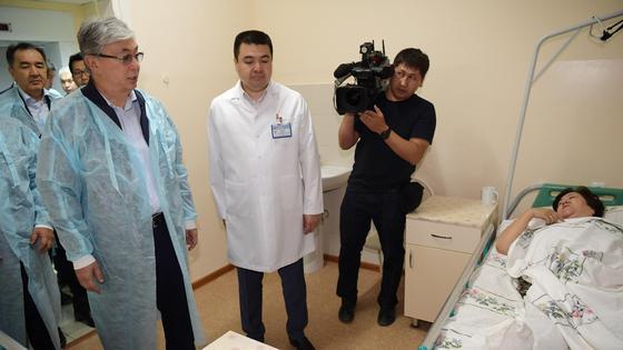 Касым-Жомарт Токаев в больнице