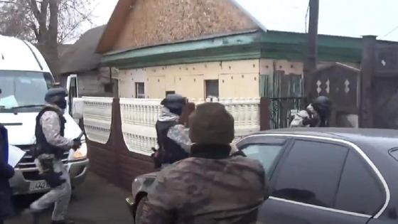 Задержание подозреваемого в Павлодаре