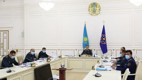 Заседание Совета министров обороны ОДКБ