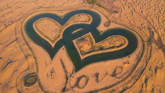 Озеро Любви в Дубае