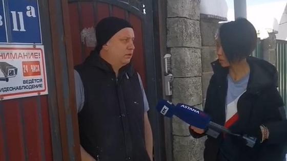 Хозяин дома под Алматы