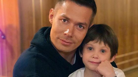 Стас Пьеха с сыном